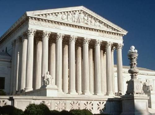 Building of the Supreme Court of the United States - The emperor Julian's pronouncement in 358 about citizens being - innocent until proven guilty - is a foundation of US Criminal Law