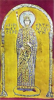 The Empress Irene - one of many strong women empresses of Eastern Rome