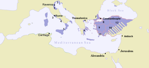 Byzantine Empire 717 - from Wiki